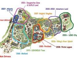 План-карта Леголенда